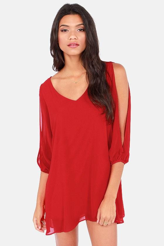 25c763718bb7 Stylish V-Neck Long Sleeve Loose-Fitting White Chiffon Dress – GonChas