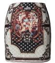 Zanzea Vintage Pattern Print Short Skirt