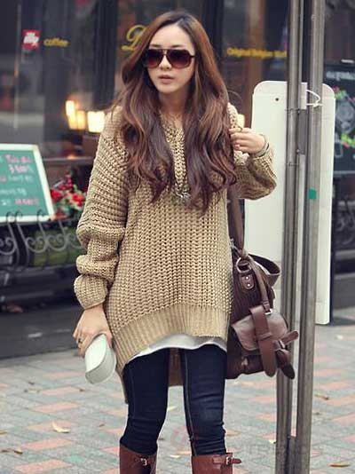 Best Fashion - Womens Big Sweaters