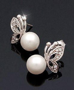 Exquisite Butterfly Shape Olivet Earrings