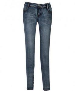 Pocket Pencil Pants Feet Jeans