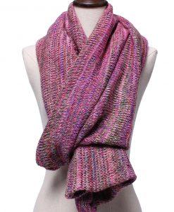 Multifunctional Knitting Batwing Sweater Warm Shawl Scarf