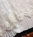 Hollow Out Crochet Lace Knit Blouse V-neck Shirt