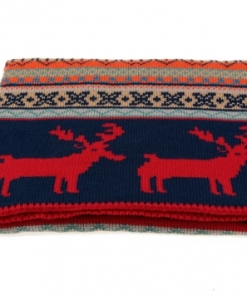 Double-sided Fawn Thick Woolen Scarf