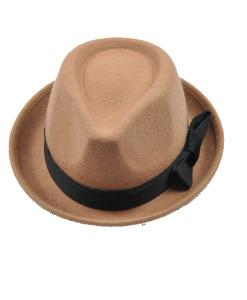 Female Wool Jazz Hat