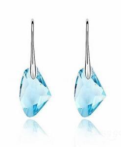 Candy Color Austrian Crystal Ear Drop Earrings Jewelery