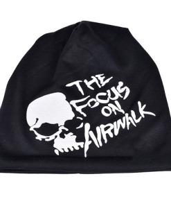 Hip-Hop Hat Skull Letters Head Cap