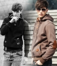 Cotton Hoodie Jacket Hip Hop Sportwear