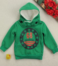 Boys Fleece Long Sleeve Jacket Coat Hooded Kids shirt Outwear