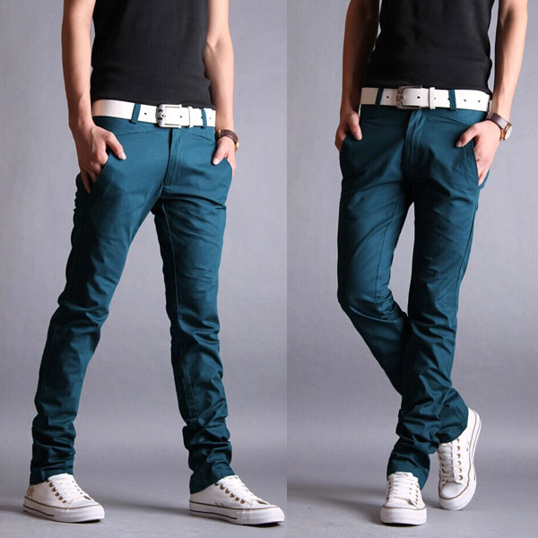 5757d232ee068 Casual Slim Fit Pencil Cotton Chino Pants – GonChas