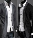 Casual Long-Sleeved Knitwear Cardigan