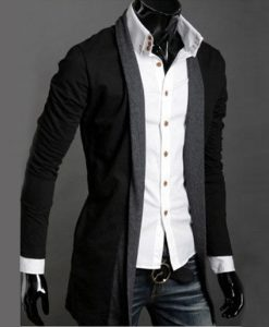 Casual Long-Sleeved Knitwear Cardigan