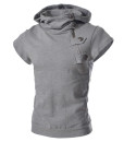 Cotton Hooded Short Sleeved 5 Colors Sweatershirts