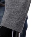 Slim Collar Fashion Leisure 2 colors Long Sleeve T-shirt