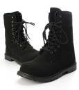Winter Mens England-style Boots Fashion Retro Combat Riding Shoes