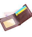 Leather Business Wallet Pocket Card Clutch Bifold Slim Purse