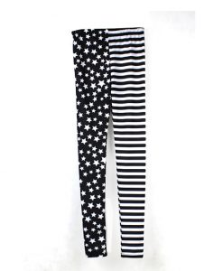 Fashion Punk Street Stlye US Flag Star Stripe Print Leggings