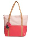 Candy Color Patchwork Handbag