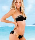 Push Up Bling Bathing Deep V-shaped Bandeau Bikini