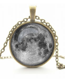 Galaxy Antique Bronze Necklace