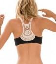 Triangle Crochet Ruffle Bikini Swimsuit