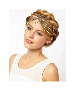 Bohemian Pearl Beads Fashion Headpiece