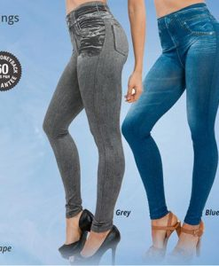 3 Peaces Slim Jeans Leggings