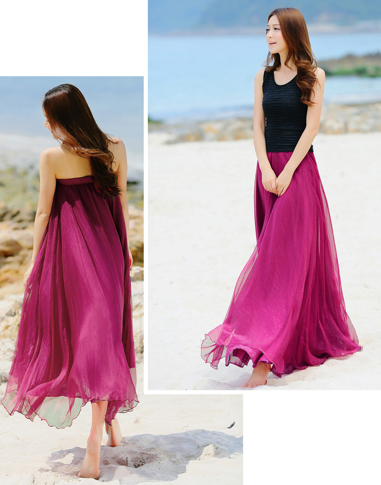 Shop eBay for great deals on Women's Chiffon Skirts. You'll find new or used products in Women's Chiffon Skirts on eBay. Free shipping on selected items. Skip to main content. eBay: ST JOHN Size 10 Formal Evening Oyster Silk Floral Chiffon Long Skirt w/Pockets. $ Free shipping.