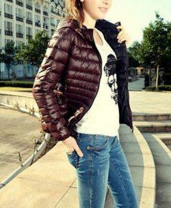 Parkas Winter Zipper Jacket