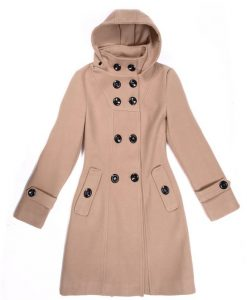Trench Woolen Outerwear High Quality Coat