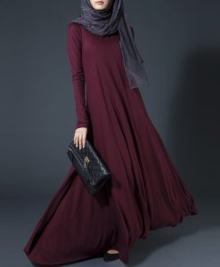Fall Long Sleeve Shirt Maxi Long Dress