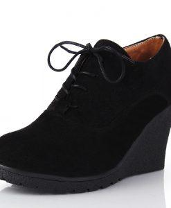 High-heeled Platform Ankle Boots