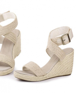 Elegant Wedges Platform High Heel Open Toe Sandals