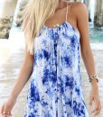 Boho Summer Beach Sleeveless Mini Dress