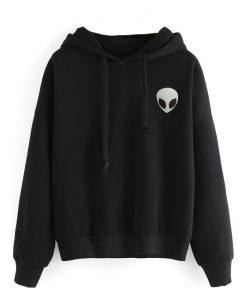 The alien icon Long sleeved hoodie